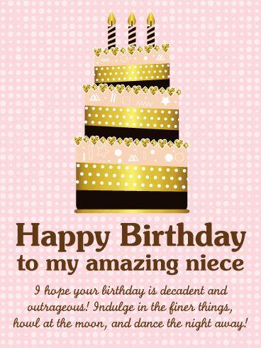 The 25 Best Niece Birthday Wishes Ideas On Pinterest Niece Happy Birthday Wishes For My Niece