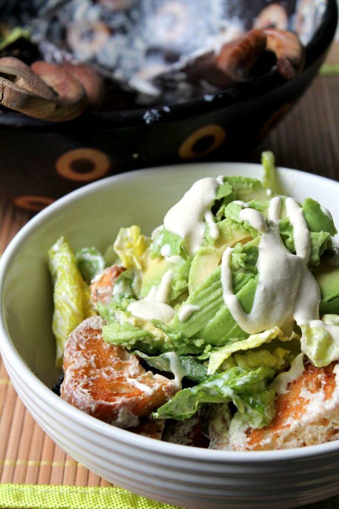 Vegan Caesar Salad Dressing - Simple Vegan Blog