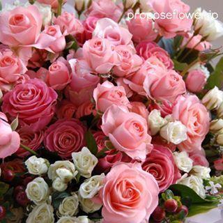 #花#花束#花好き #ピンクの薔薇  #flower #flowers #flowerlovers