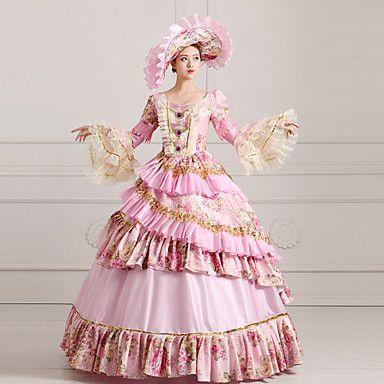 Steampunk®Top Sale Alice Dress Pink Victorian Party Dress Wholesalelolita Rococo Princess Prom Dresses 2016 – €255.77