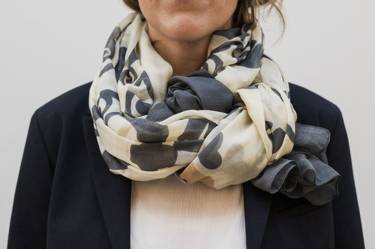 Keep warm! Our light summer #scarves are made in 70% silk and 30% Modal and decorated in beautiful patterns by Danish architect Thorvald #Bindesbøll (1846-1908). Available in three designs and color options. DKK650 #DanishDesign