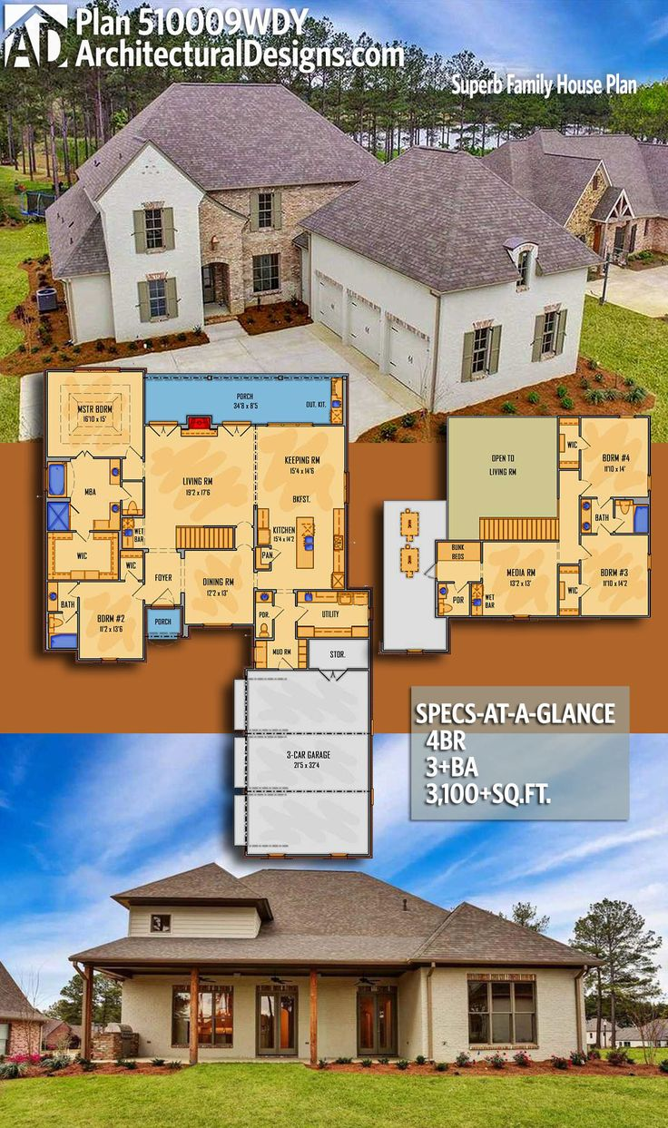 Architectural Designs Acadian House Plan 510009WDY gives
