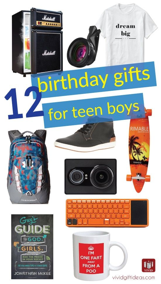 Birthday gifts for teen boys (Tech gifts, teen fashion, bedroom decor, and more cool ideas)
