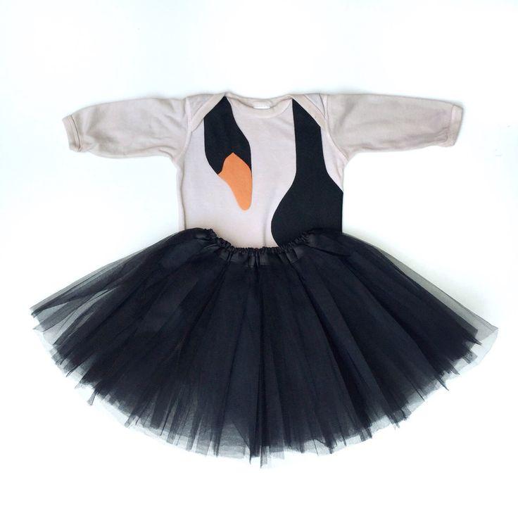 Black Swan Costume, Baby Black Swan, Bird Halloween Costume, Funny Halloween, Baby Ballerina, Tutu Costume by TheWishingElephant on Etsy https://www.etsy.com/listing/245669792/black-swan-costume-baby-black-swan-bird