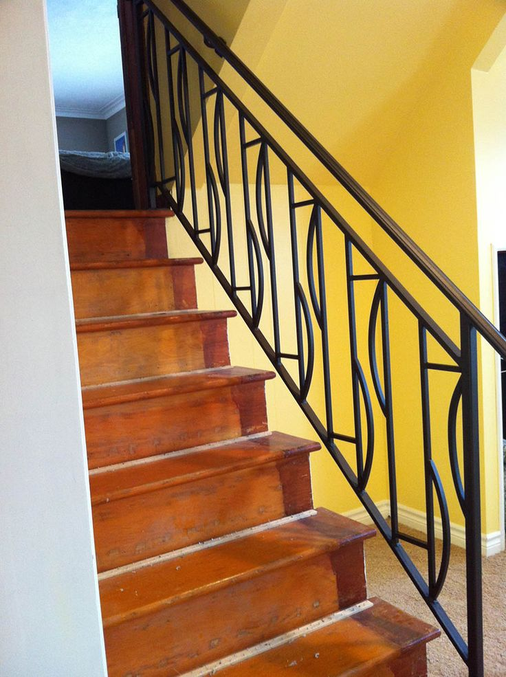 1000 ideas about wrought iron railings on pinterest - Wrought iron stair railing exterior ...