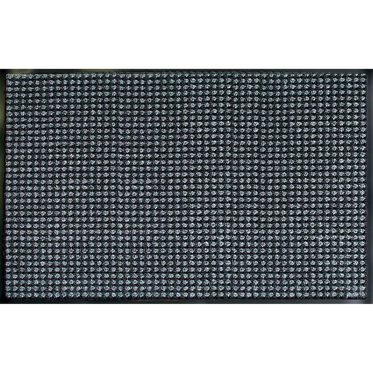 Prestige Granite Door Mat (3' x 5'), Black (Synthetic Fiber) #60-038-1728