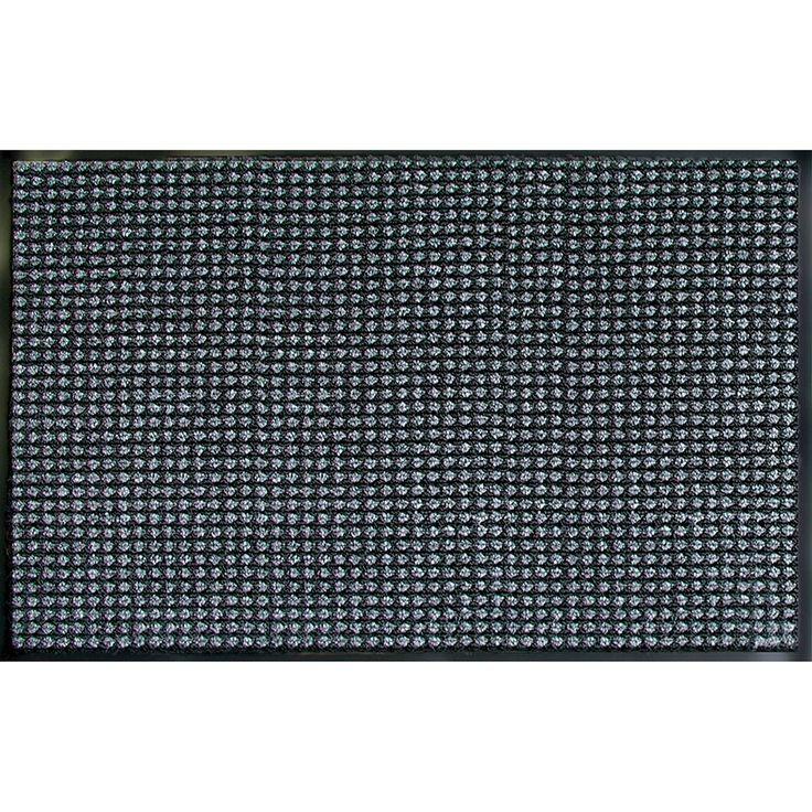 Prestige Granite Door Mat (3' x 5'), Black (Synthetic Fiber) #60-038-1728