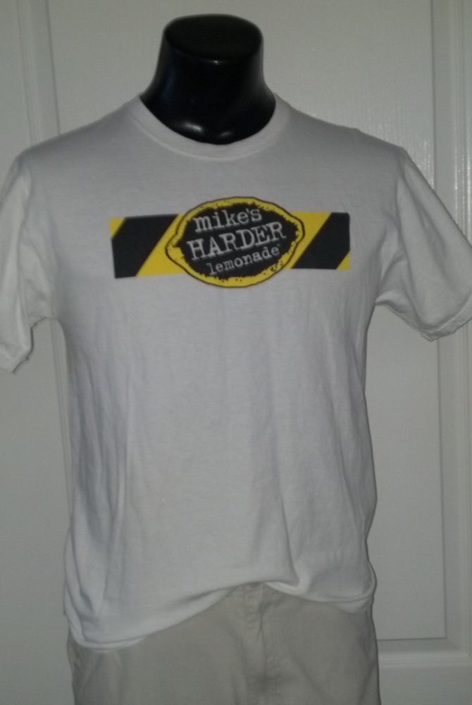 Mikes Harder Hard Lemonade Logo Promo White T Shirt Medium Rare | Clothing, Shoes & Accessories, Men's Clothing, T-Shirts | eBay!