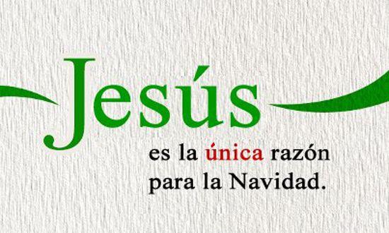 Resultado de imagen para jesus es la razon de esta navidad