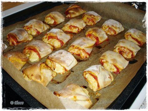 Kochen....meine Leidenschaft: Pizzabrötchen gefüllt