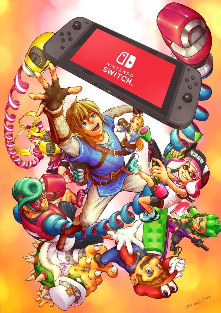 Nintendo Switch By T End Oooo Nintendo Pinterest Nintendo