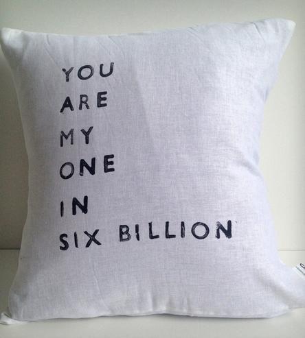 """""""One in Six Billion"""""""