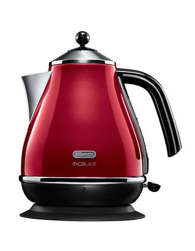 Delonghi Icona Cordless Kettle-RED-One Size | 15% OFF