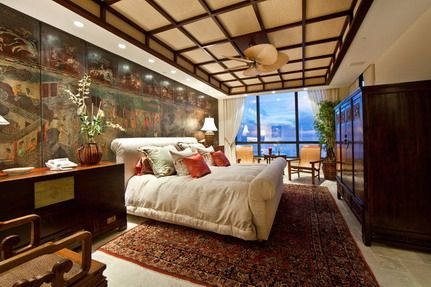 Simple Bedroom Interior Design with Modern Japanese Furniture Ideas
