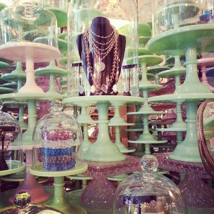 Cake stand forest #vintage #venice #california #shopping #blogtourLA