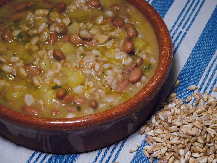 La zuppa di farro
