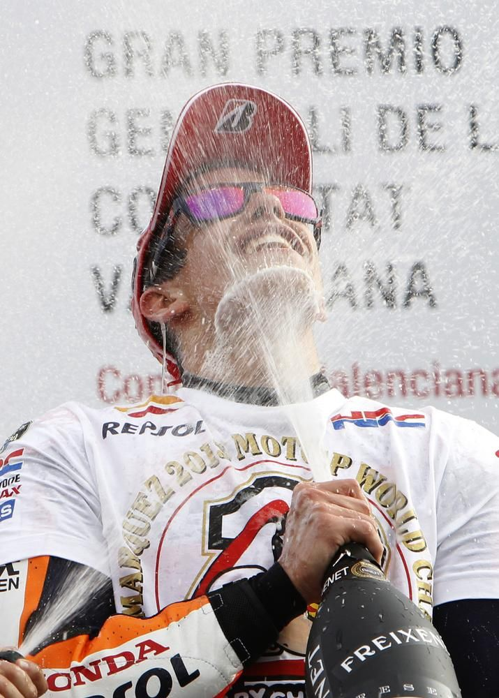 10/11/2013 Marc Marquez (Catalonia) became the youngest rider to win the MotoGP world title. Marquez is also the first rookie winner since Kenny Roberts in 1978.