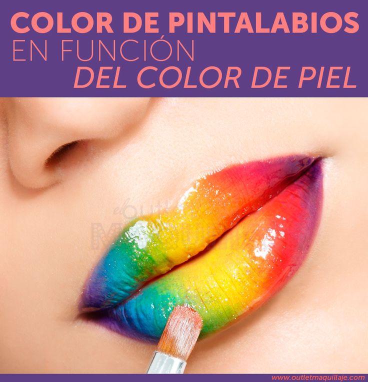 Elige el pintalabios en función del color de piel - Blog Outlet Maquillaje