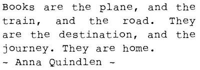 #quote #books #home #quindlen
