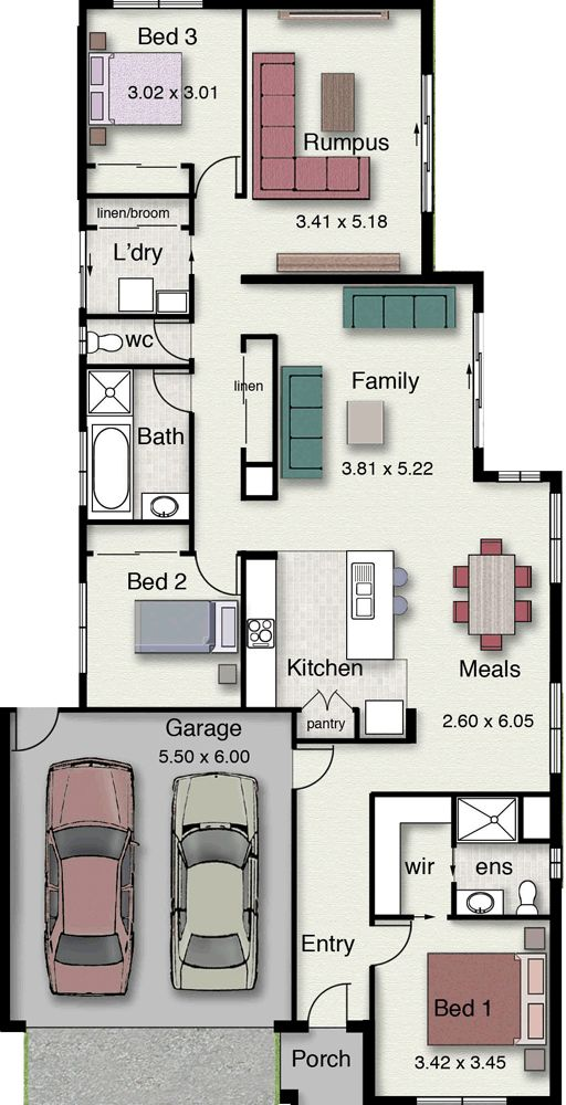 Affordable Floor Plans