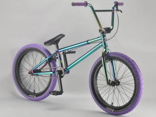 madmain green fuel 20 inch BMX bikes from Harry Main and mafia BMX