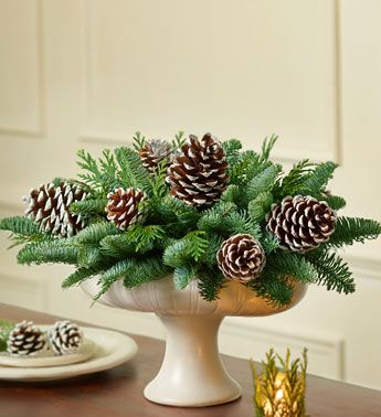 Christmas Wreaths and Centerpieces, - options for wedding centerpieces