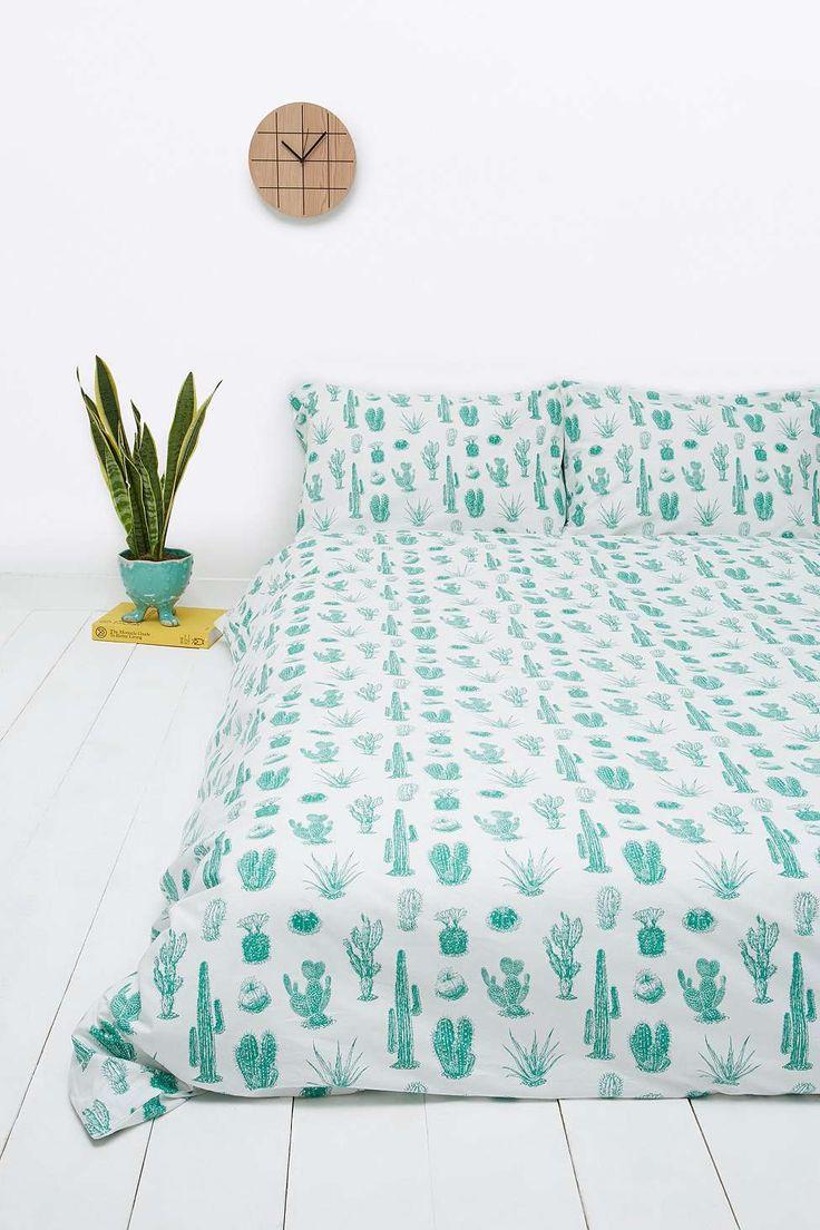 Cactus Print Duvet Set