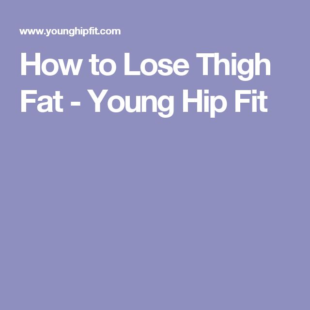 How To Lose Stubborn Fat: Belly, Butt, Hips & Thighs