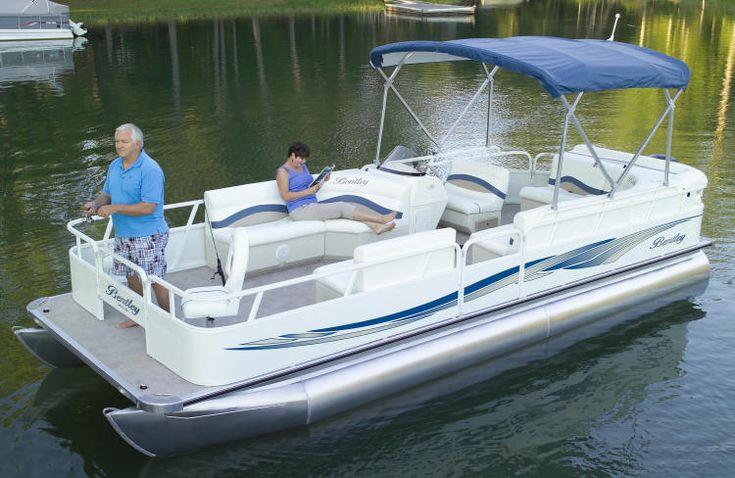 Bentley Pontoon Boats › Pontoon Boat › 240 ...