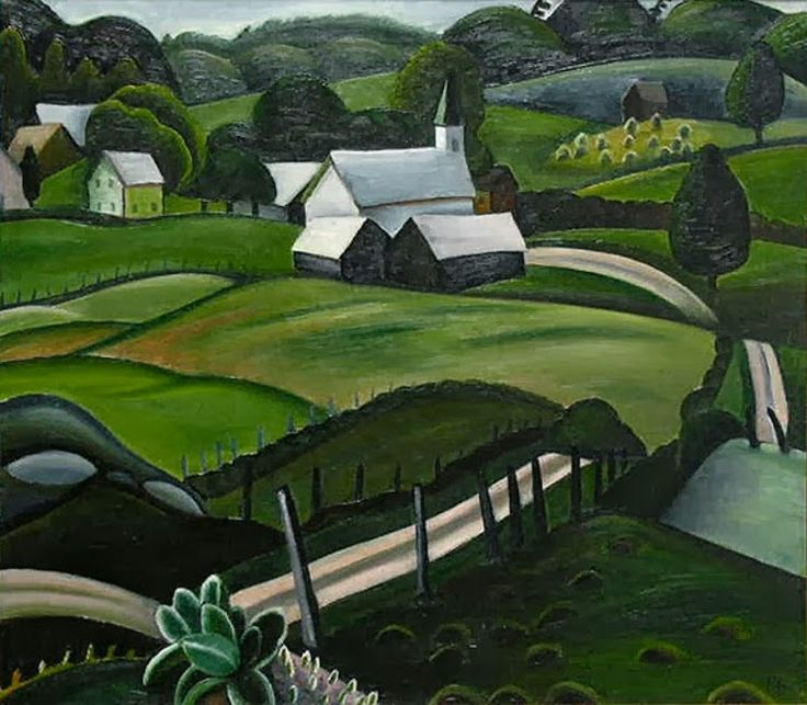 lawrenceleemagnuson: Farm 1934 Prudence Heward, Canada 1896-1947