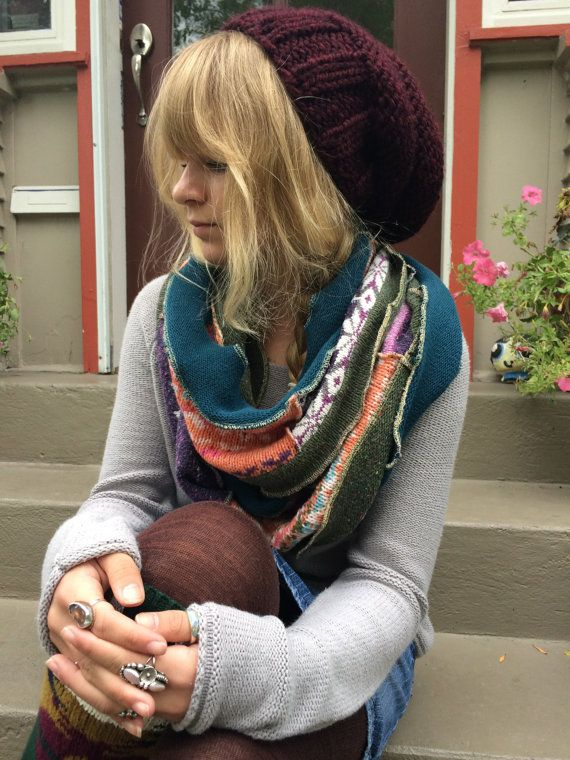 10 best Upcycled Woolly Wraps, Ruanas & Shawls from Recycled ...