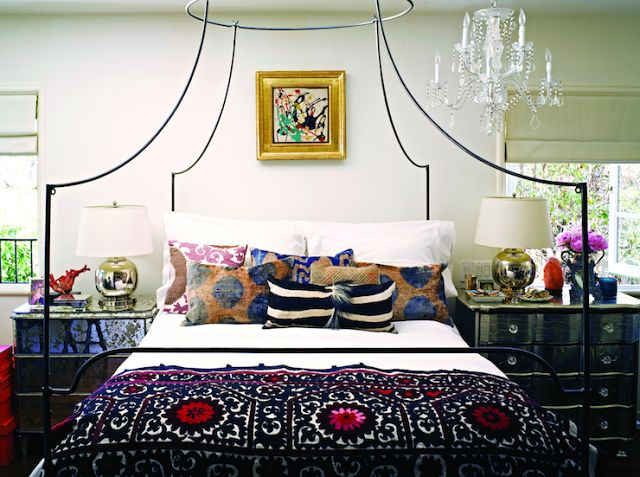 eclectic grandeur current obsession anthropologie canopy bed - Eclectic Canopy 2015