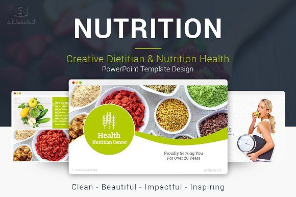 Top Nutrition Powerpoint Template Powerpoint Templates
