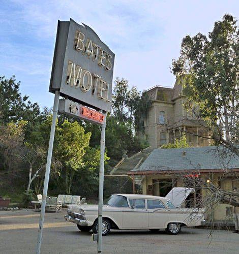 Universal Studios Hollywood Psycho   Universal Studios Picture - Bates Motel