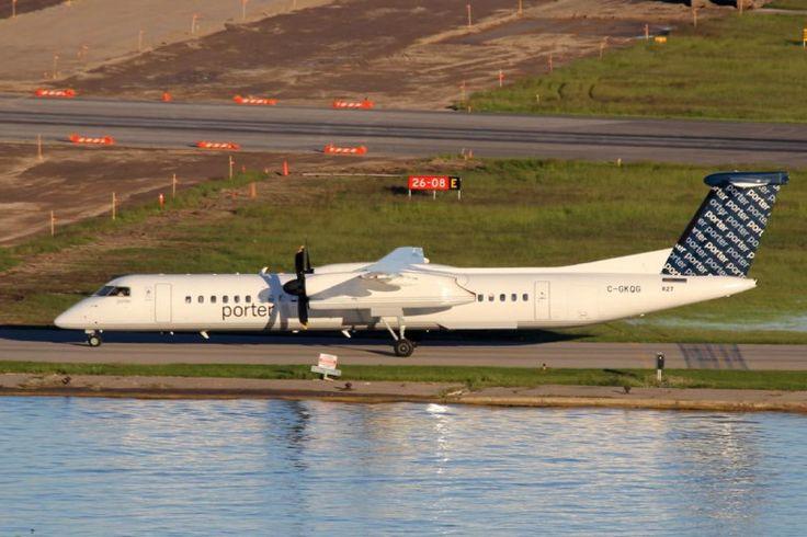 Porter Airlines C-GKQG De Havilland Canada DHC-8-400 #ytz