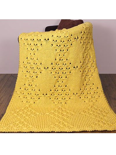 Knitting Pattern Central Blankets : 17 best images about Knitting Baby Blanket Pattern Downloads on Pinterest P...