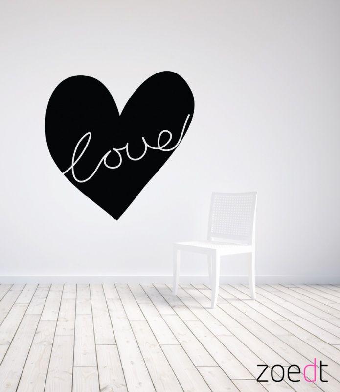 Muursticker HART *Love   Muurstickers   By NoTh