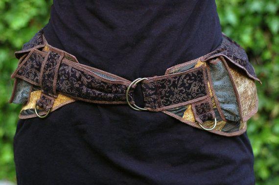 Golden Waves Festival Pocket Belt Utility belt von Sandalamoon