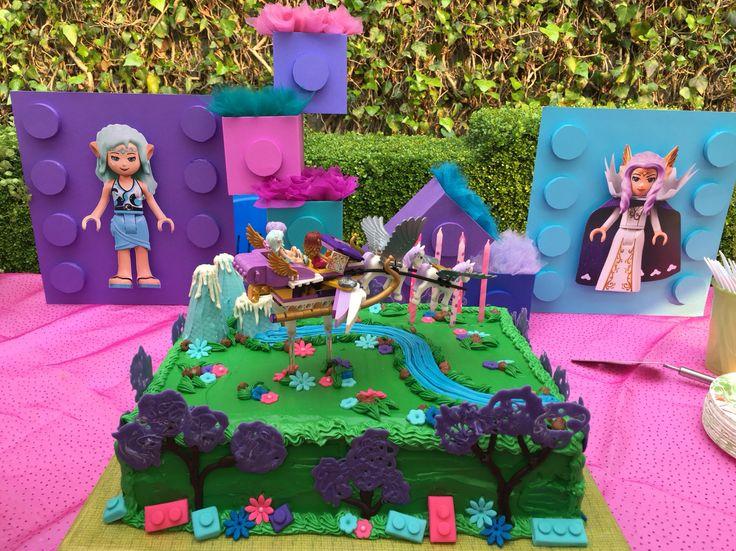 Lego Elves Cake