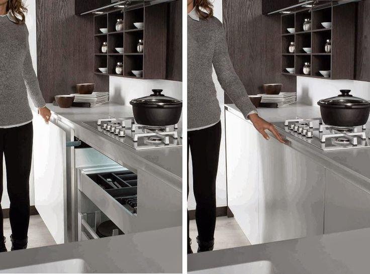 12 ideas para hacer más cómodo el trabajo en la cocina - kuali