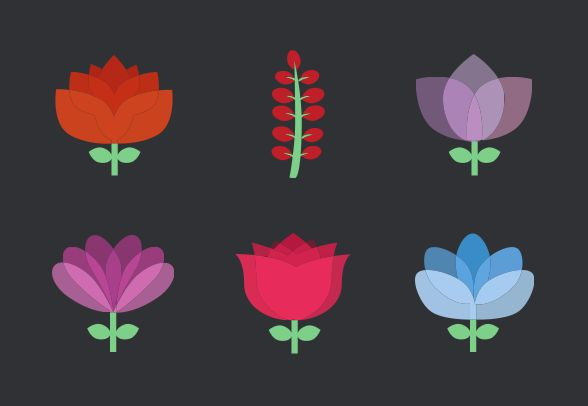 Download these prett flower icons and more…