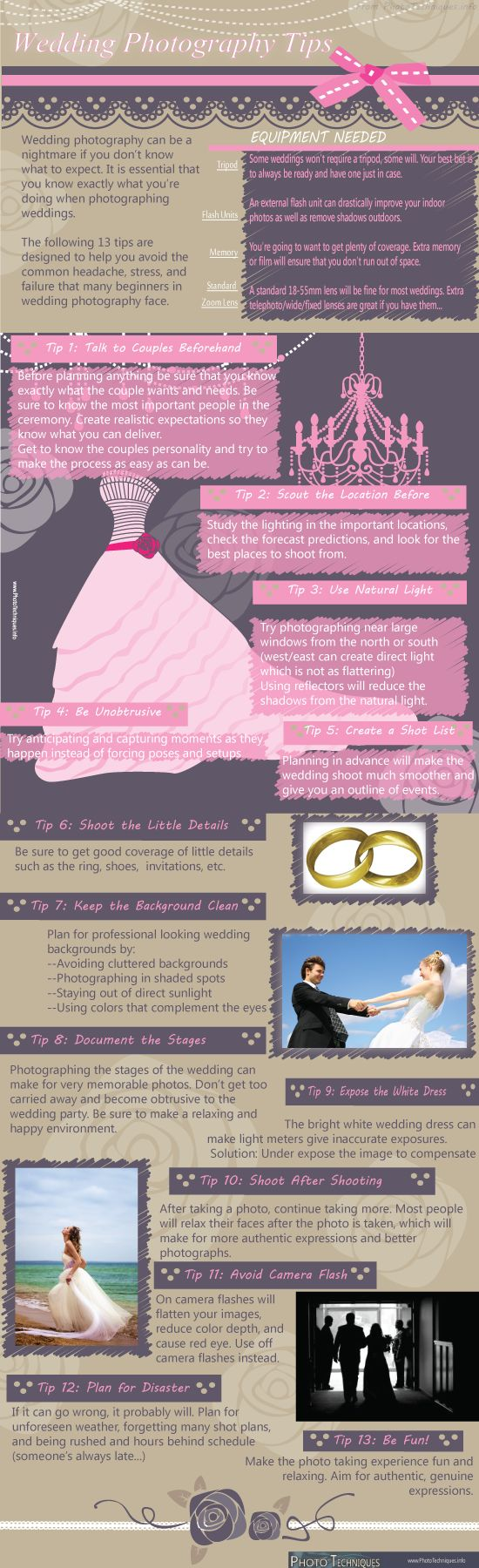 #Wedding #Photography Tips  Cool Daily Infographics -- This is pretty cool! Good to know the basics!