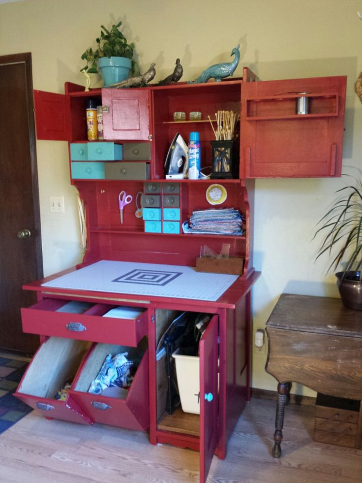 17 best images about hoosier on pinterest before and for Repurposed furniture before and after