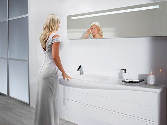 Il bagno alessi one by oras a smart touchless faucet for - Il bagno alessi ...