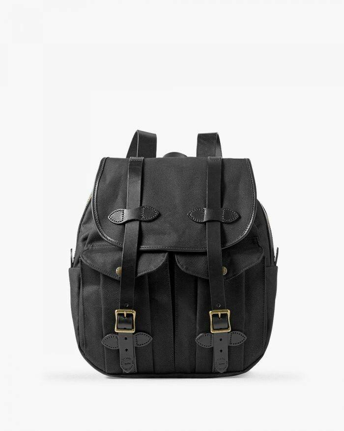 New Cc Filson Rugged Twill Bridal Leather Rucksack Backpack Oiled Waterproof Bag Fashion Clothing Shoes Accesso Filson Bags Leather Rucksack Black Rucksack