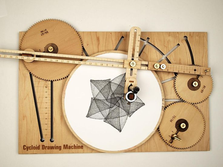 Sketch Intricate Designs with A Hand-Cranked Drawing Machine | The Creators Project