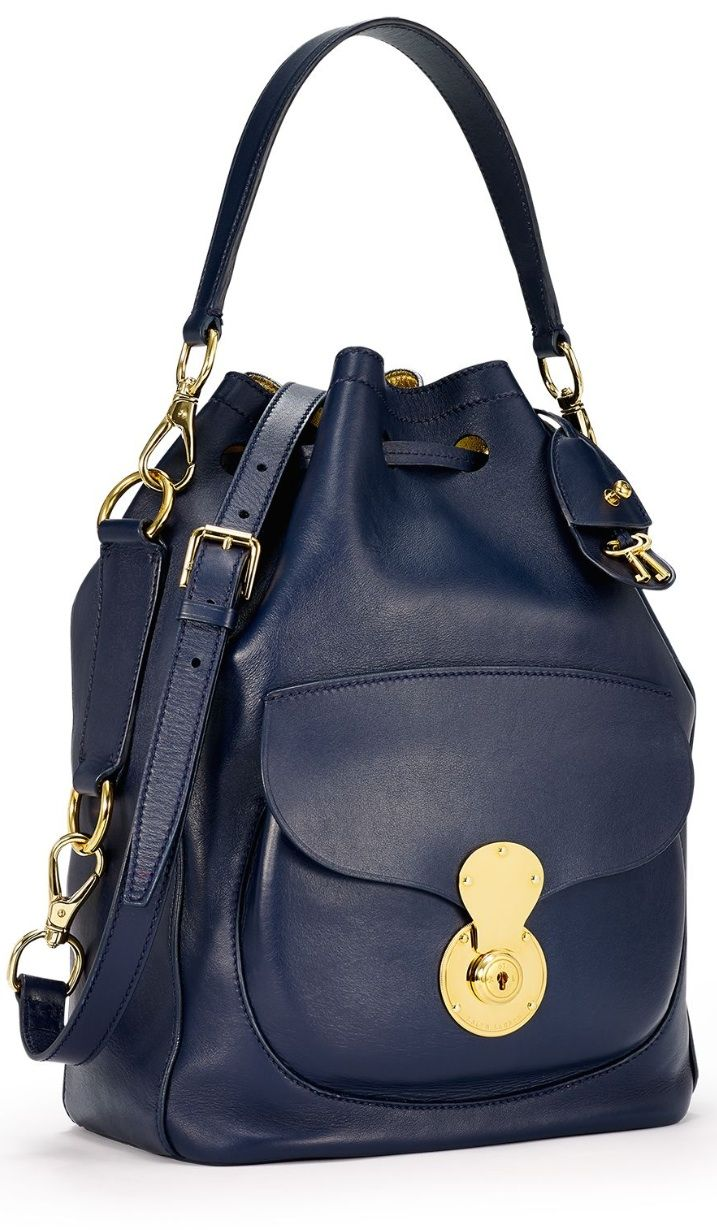 Sophisticated and lightweight, the Ralph Lauren Ricky Drawstring Bag is the  new must-have