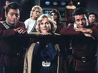 Some of the cast of the Wrath of Khan.  Well, not Khan clearly