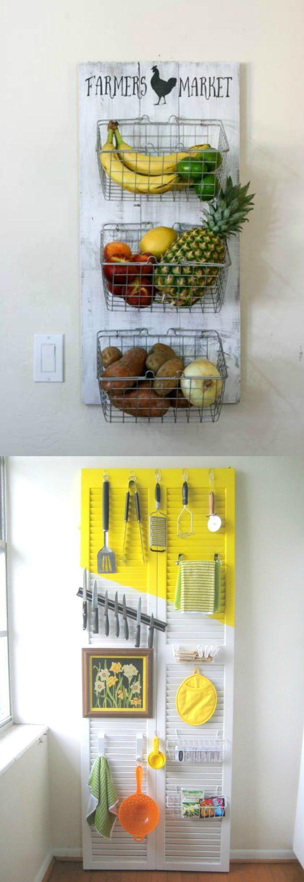 10 Modest Kitchen area Organization And DIY Storage Ideas