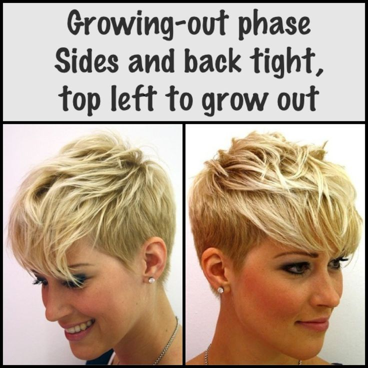 Cut While Growing Hair Out Haarschnitte Pinterest